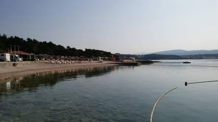 Camp Jezevac beach