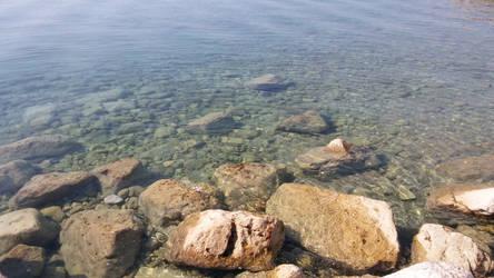 The clear ocean
