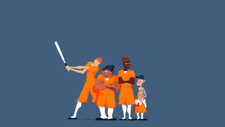 Jail Dudes by Opreem