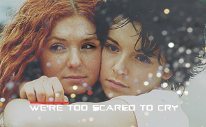 We're Too Scared To Cry by GoOutsideAndBreathe