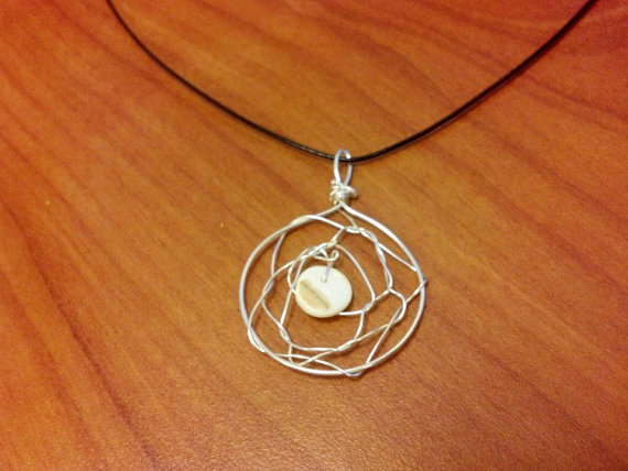 Simple dream catcher necklace for sale by flutterbyye on deviantart simple dream catcher necklace for sale by flutterbyye aloadofball Choice Image