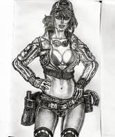 Cindy Aurum Final Fantasy XV by xaberwyvern