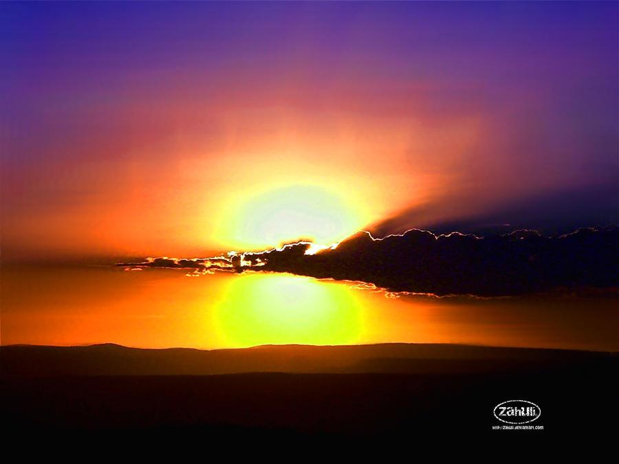 Sun Divided by zahuli
