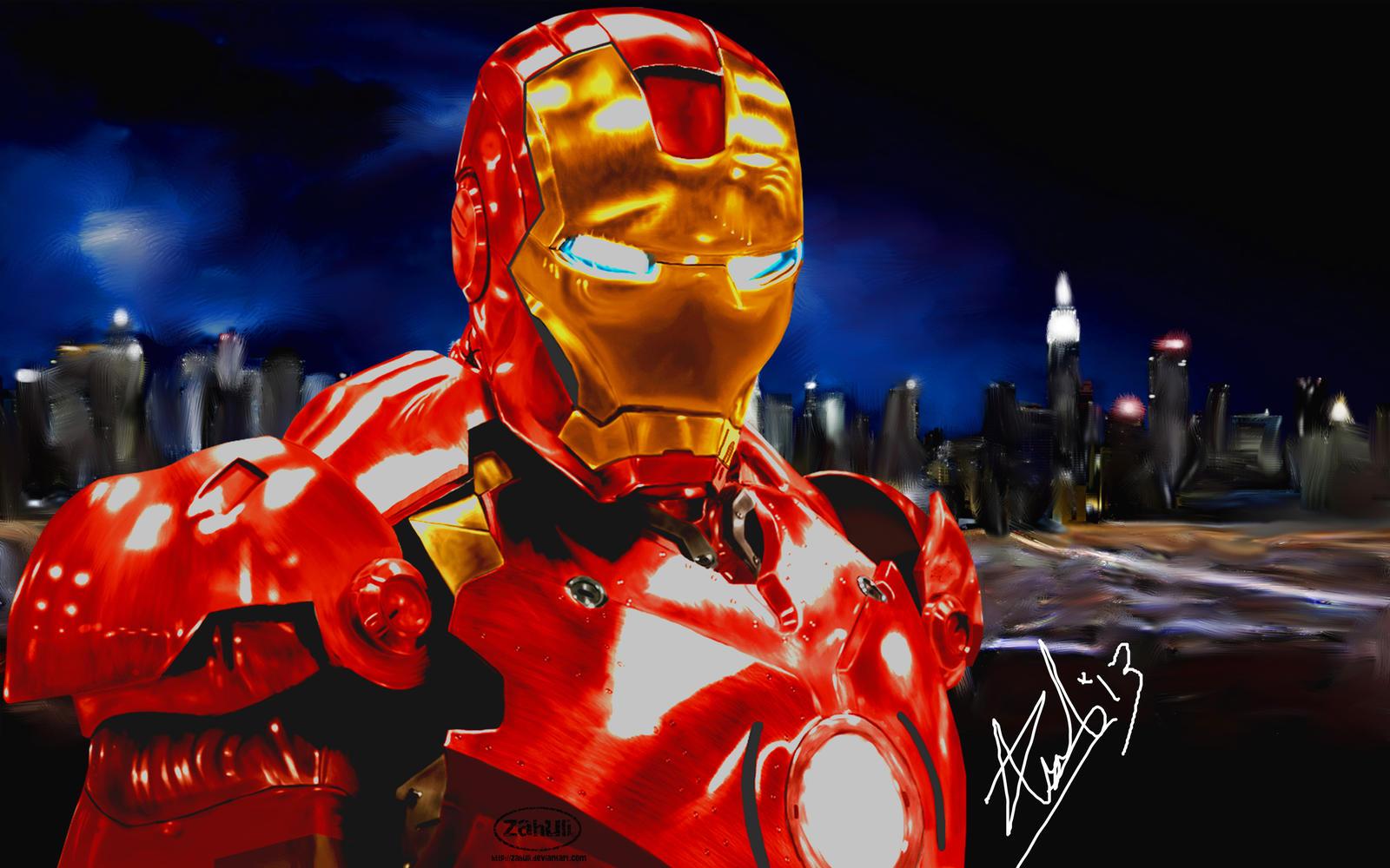 Ironman by Zahulie-Zoe