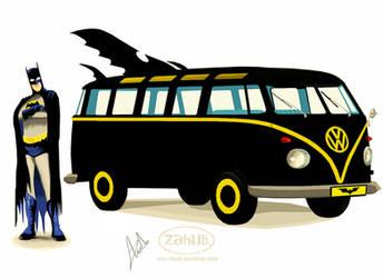 Vintage Batman Kombi by Zahulie-Zoe