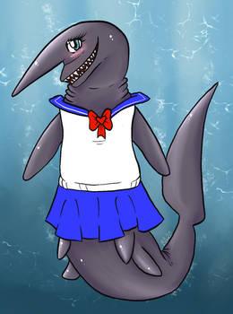 Tammy the Goblin Shark