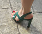 Sexy Green Shoes