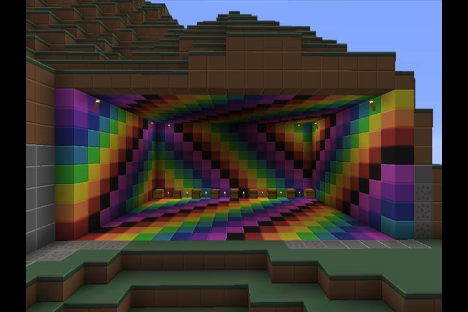 Minecraft Room Wallpaper Related Keywords Suggestions Minecraft Room