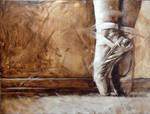 En Pointe   -  Oil on canvas 16x20 by rtistj