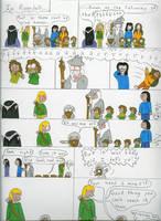Lord of the Rings- Fart Joke by pandarune