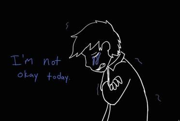 It hurts. by Cakeferdays