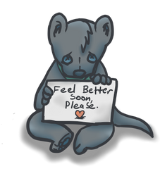 Feel better soon, please. by Cakeferdays