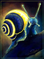Neon snail