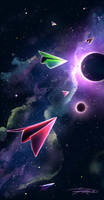 Space exploration by Sjoelie