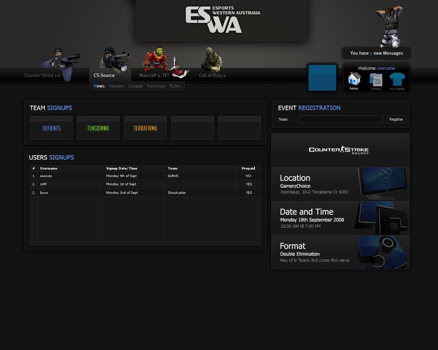 Esports Gaming Template LAN by columaes on DeviantArt