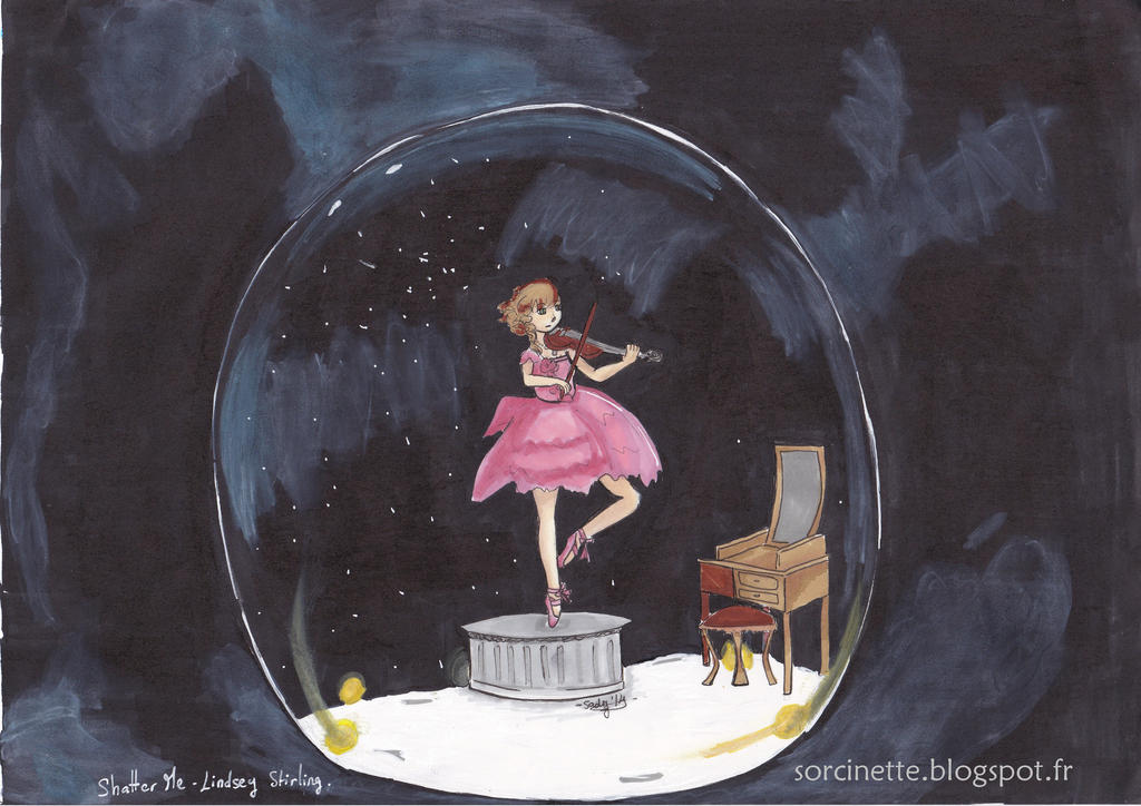 Fanart Shatter me de Lindsey Stirling by Sadistice on ...