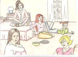 Girls' Night In by Nemhaine42