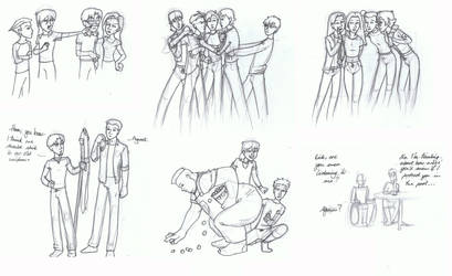 Doodles II by Nemhaine42