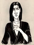 Sepia Stained Severus by Nemhaine42