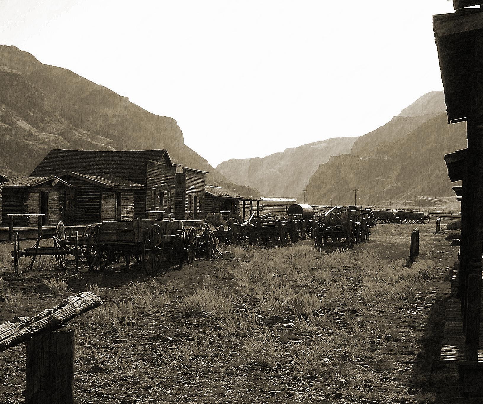 rocky mountain ghost townfel2norak on deviantart