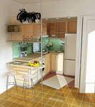 Summer House Compact Kitchen