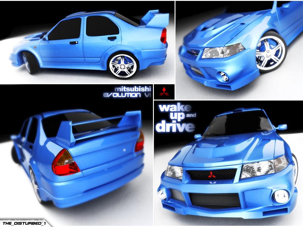 Mitsubishi Evolution 6 By Artist Tortured On Deviantart