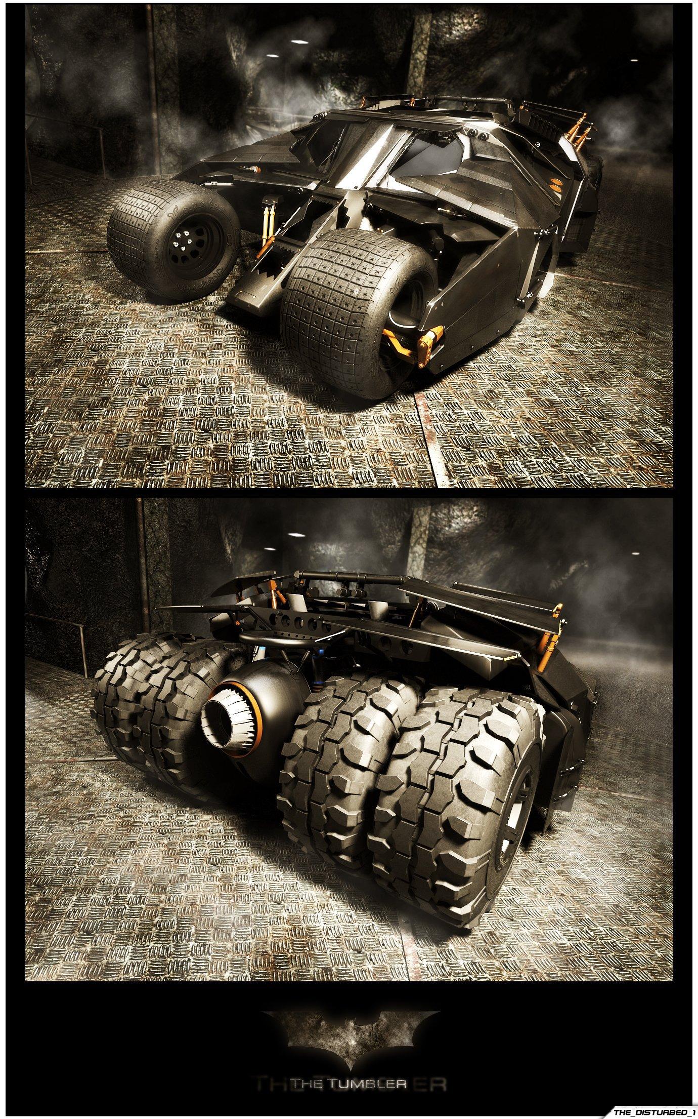 Batmobile - The Tumbler