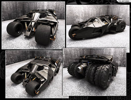 Batmobile - The Tumbler Street