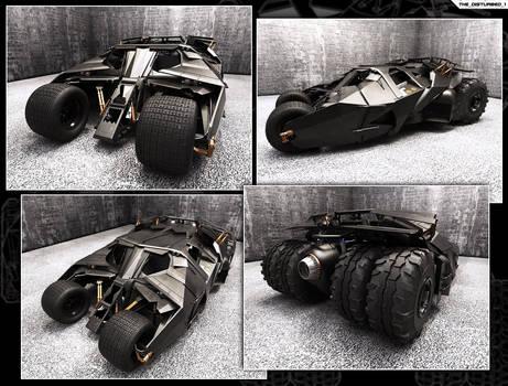 Batmobile - The Tumbler Street