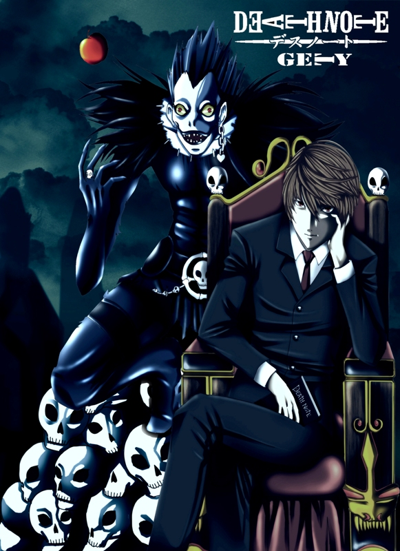 Light and Ryuk by Nouin on DeviantArt