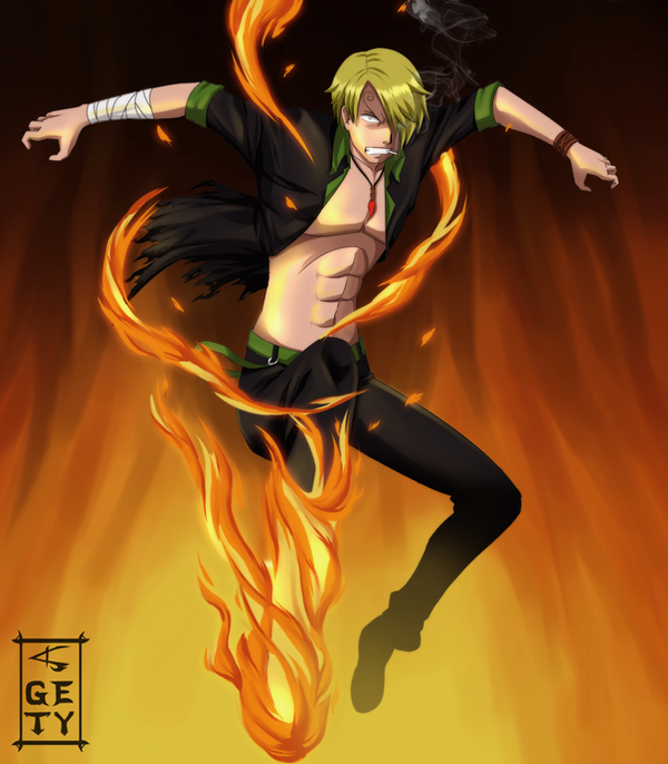 Sanji by Nouin on DeviantArt