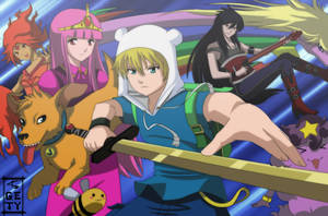 Adventure Time by Nouin