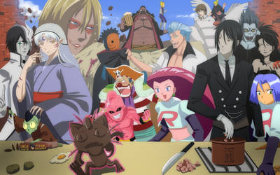 Evil meal time by Nouin