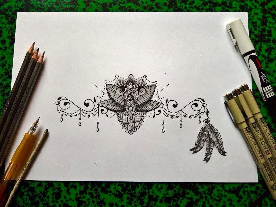 sketch cle de sol plumes type bracelet by gradart on deviantart. Black Bedroom Furniture Sets. Home Design Ideas
