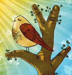 Gingerfingerbird by FoxyCharlie