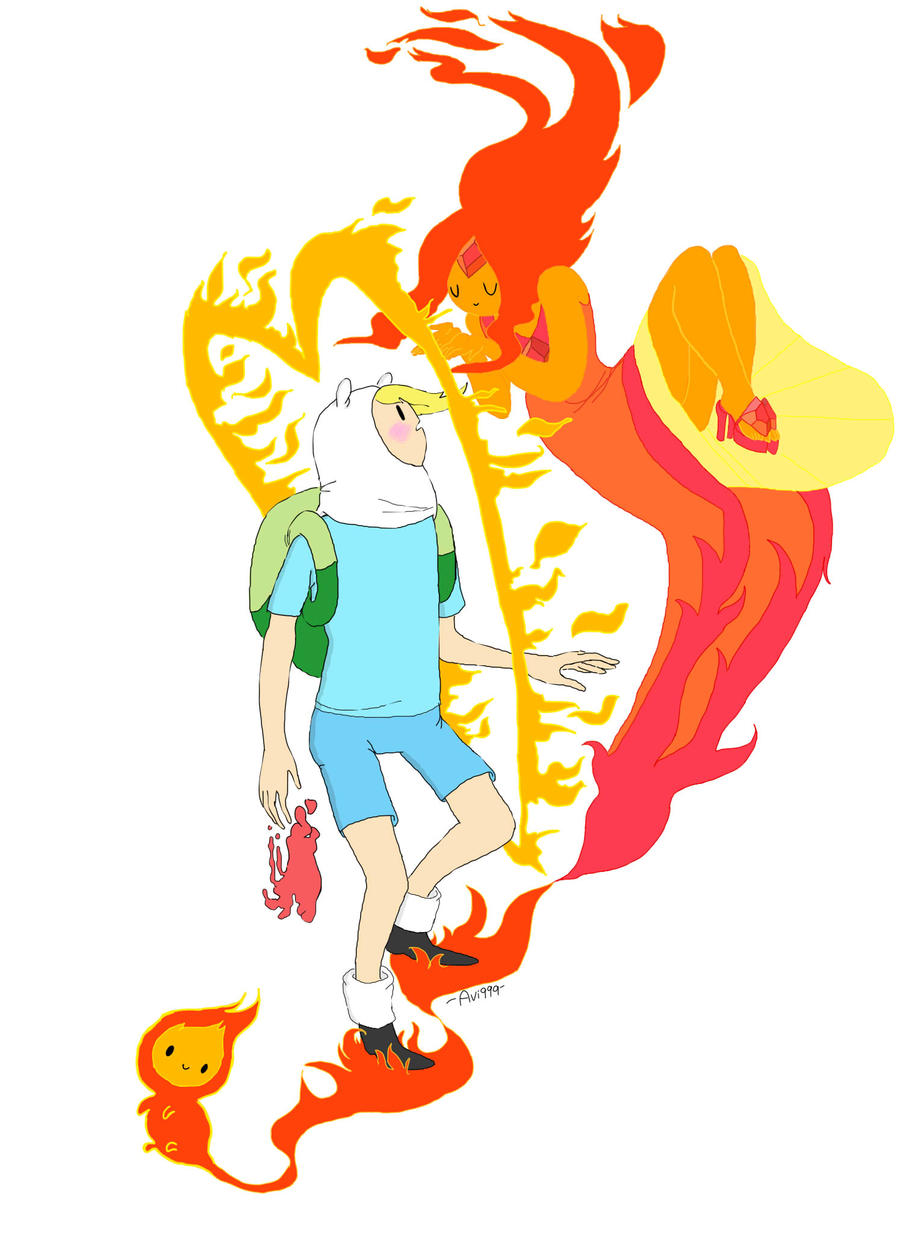 Oh flame princess by AVIAN999