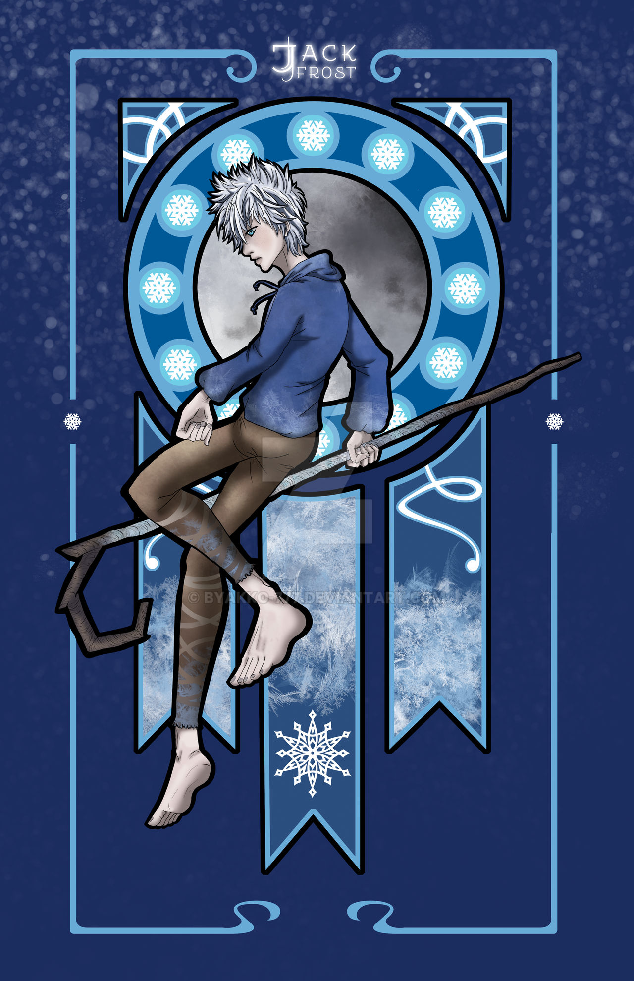 Jack Frost Nouveau By Byakko 777 On Deviantart