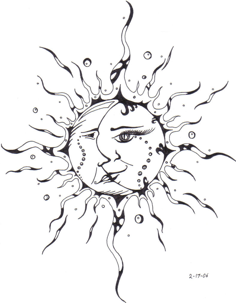 Tattoo Flash Art Lion By