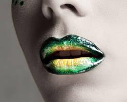 Ombre lips by Ehinokokus