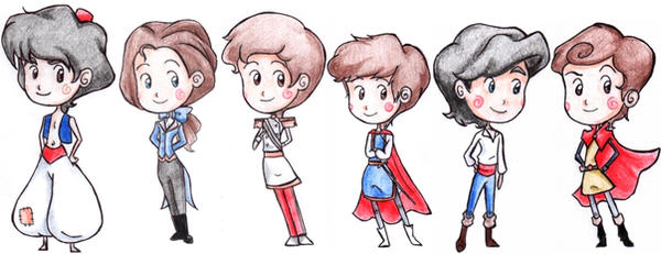 Princes FanArts ! Disney_Princes_by_CicatriceMiki