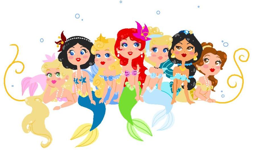 Disney Mermaids