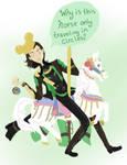 Loki goes to Disney part 1