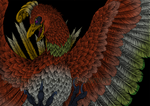 Heart Gold Sould Silver - Ho-Oh colorized by Altarior