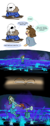 Undertale Comic - Fart Swamp by Altarior