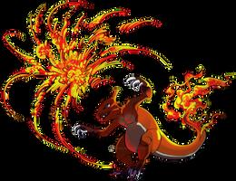 Flame Burst by Altarior