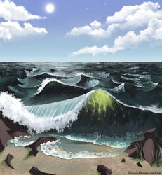 Crashing Wave 2.0 by Altarior