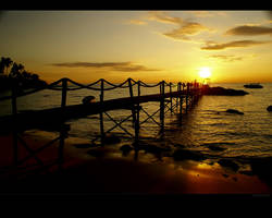 Koh Kood Sunset Wallpaper by nxxos