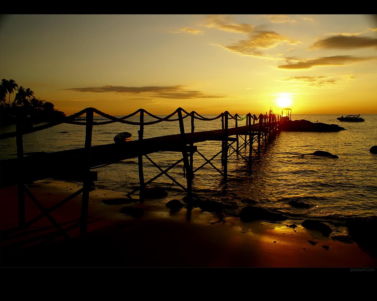 Koh Kood Sunset Wallpaper