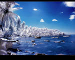 Light Blue Wallpaper by nxxos