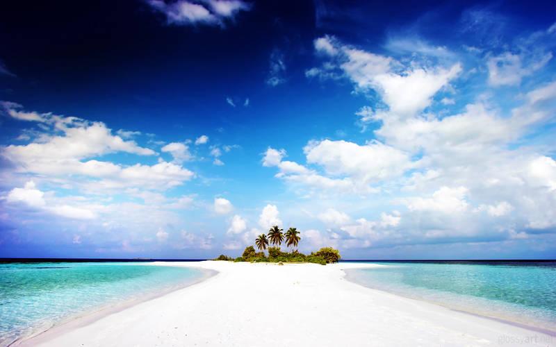 Paradise Island Wallpaper by nxxos